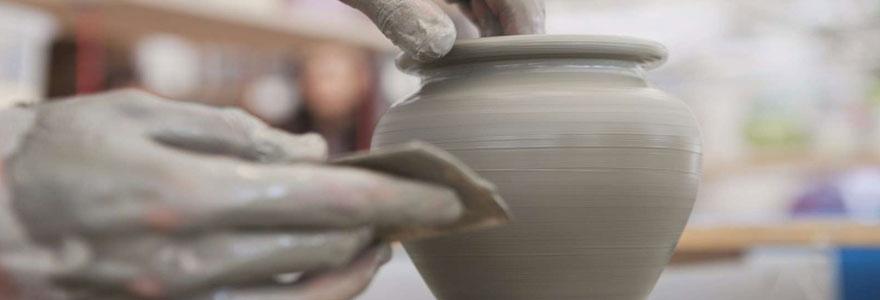 Sculpture en porcelaine